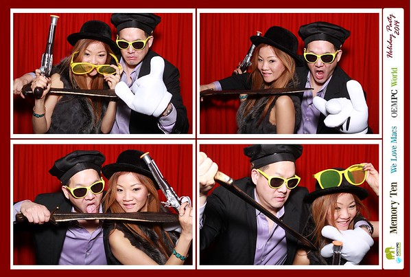 Memory Ten Holiday Party 12-06-14
