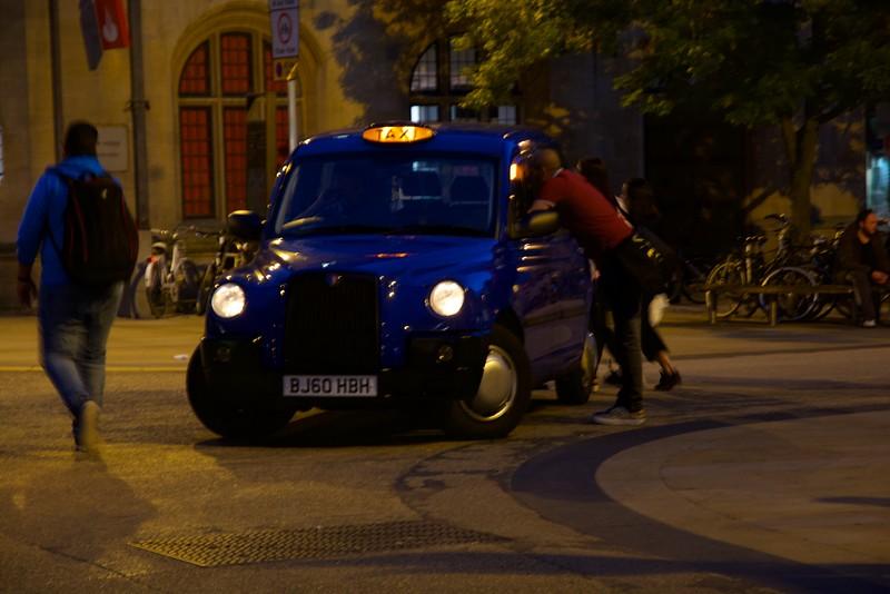 Oxford, Street Scene, Transportation, Twilight,