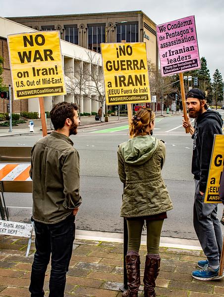 No War in Iran Santa Rossa  Bill Clark-7.jpg