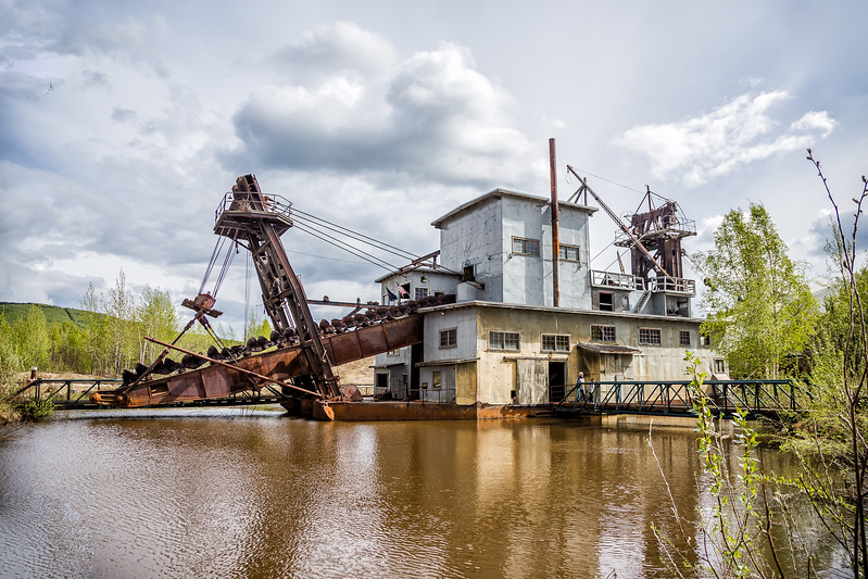 Things to do in Fairbanks Alaska Gold Dredge 8