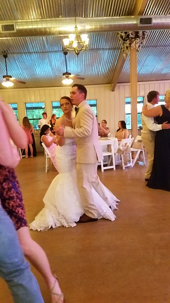 Dakota's and Taylor's wedding