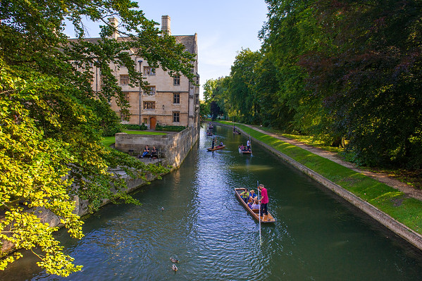 A Day in Cambridge, England and a Few Hours in Saffron Walden, England
