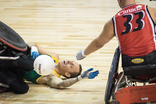 Para-PanAm Olimpics Wheelchair Rugby 2015
