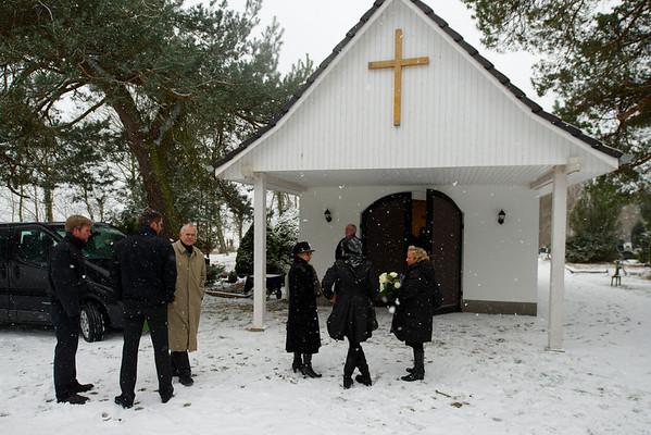 Beerdigung Opa - Februar