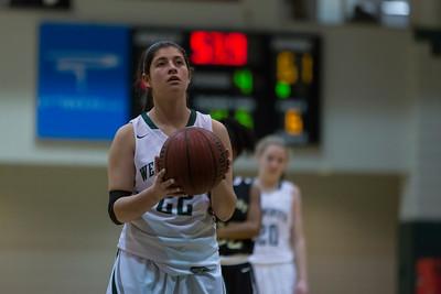 Girls Basketball January 30, 2015