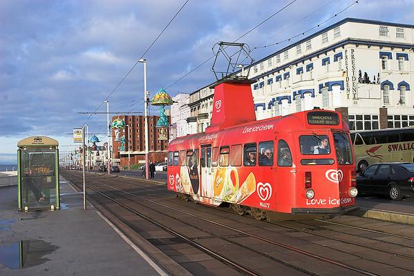 8th November 2009: Blackpool Tramway