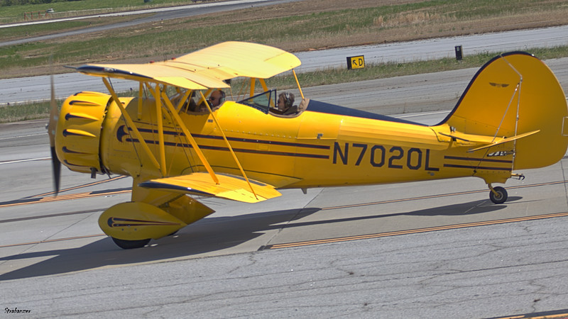 Peachtree Dekalb Airport (KPDK), GA, 04/05/2021, 1999 Waco YMF-F5C c/n F5C085  N7020L This work is licensed under a Creative Commons Attribution- NonCommercial 4.0 International License.