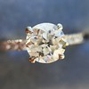 .81ct Old European Cut Diamond in Brian Gavin Setting 11