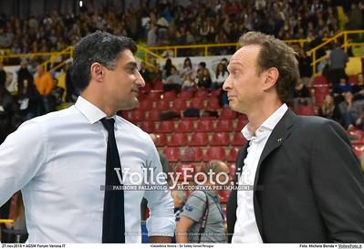 12ª #SuperLega «Calzedonia Verona - Sir Safety Conad Perugia»