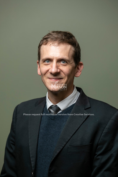 David Drummey, Associate University Counsel, Office of University Counsel.  Photo by:  Ron Aira/Creative Services/George Mason University