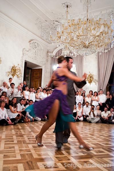 White Milonga: Diego and Angi performing