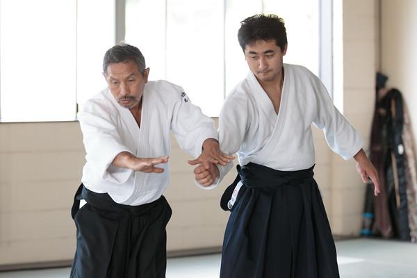 Takase seminar 2015: Takase and kyu grading