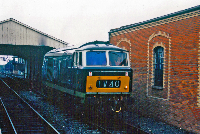 D7076 at Bo'ness.  I am indebted to 55012 for the pic, which remains copyright to him.   5th September 1998