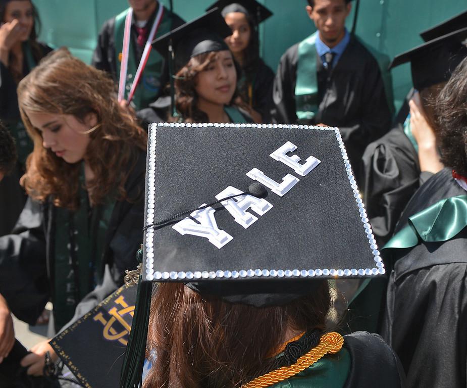 . San Pedro, CA - Port of Los Angeles HS Graduation at Warner Grand Theatre. (Robert Casillas/Daily Bulletin)