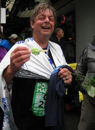 Portland Marathon - October 2008