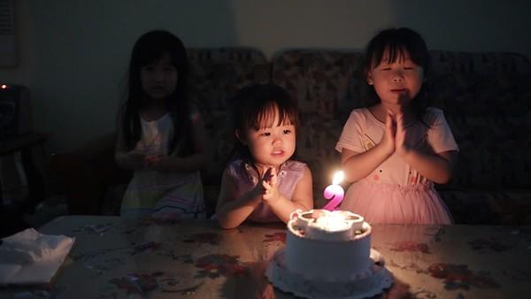 20180618菲菲兩歲生日