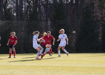 JV Girls Soccer Action Photos