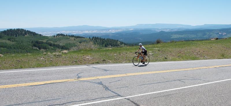 The climb up Boulder Mountain