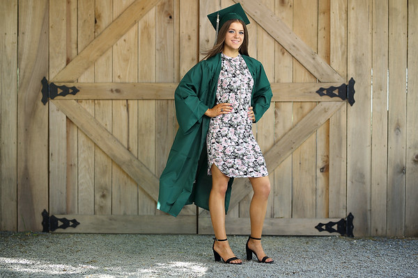 Kayley Nance Cap and Gown