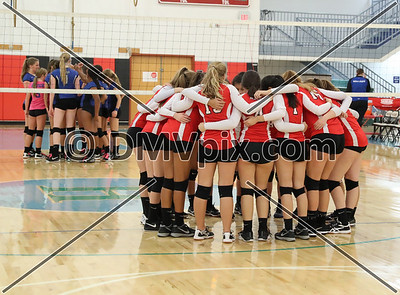 Madison County @ Mason JV Volleyball (18 Oct 2018)