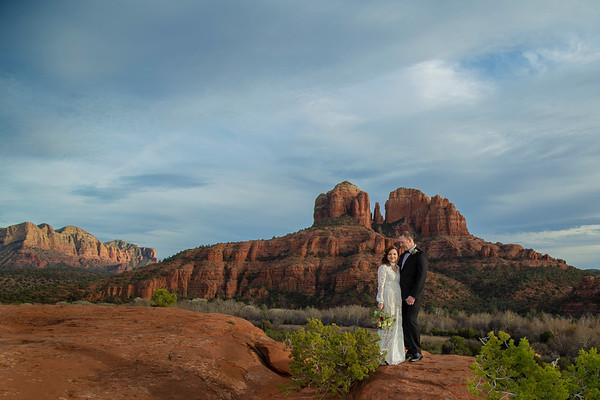Susan & Darin's Sedona Wedding