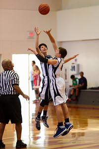 Dec 6 - BBall - Boys 7th Gr Gold vs Blue