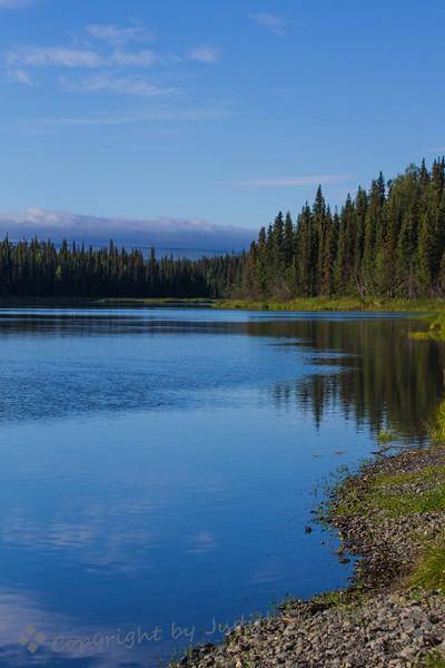 Tustumena Lake View