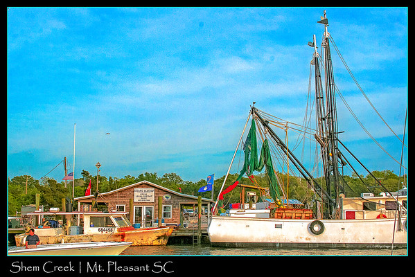 SHEM CREEK & SHEM CREEK PARK | Mt. Pleasant, SC