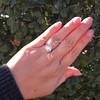 3.46ct Old European Cut Diamond GIA M, VS1 52