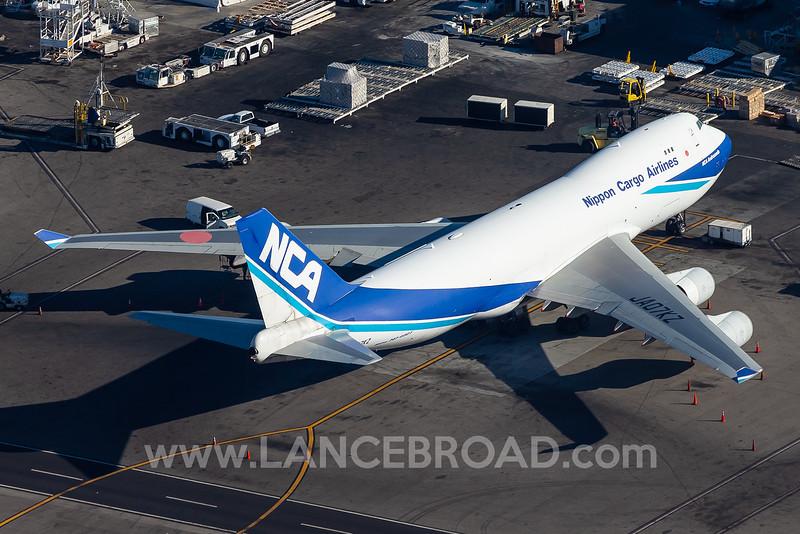 Nippon Cargo 747-400 - JA07KZ - LAX