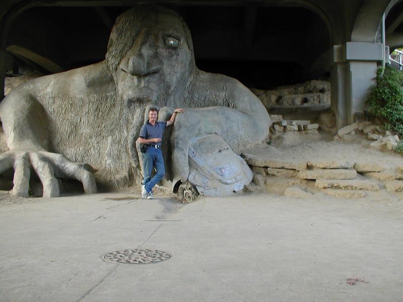 Seattle - under Herbie bridge