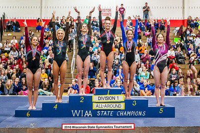 HS Sports - Gymnastics State Tournament - Mar 05, 2016