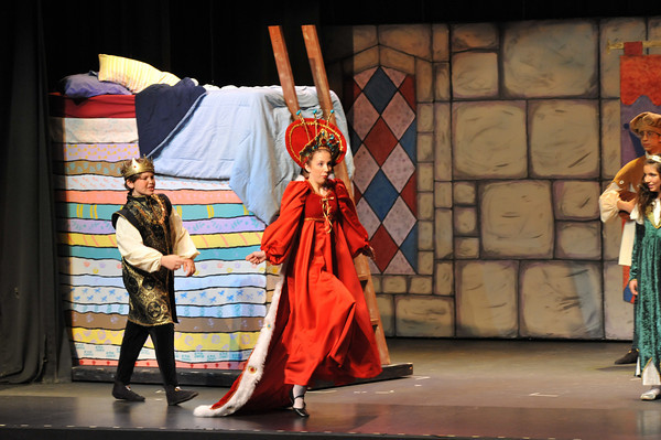 Once Upon A Mattress - Royal Cast