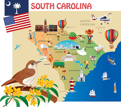 South Carolina Photo Slideshows