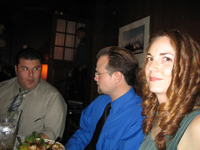 Erin and Carlton's rehersal dinner
