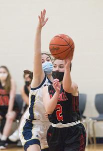 Girls Basketball: Harbor Springs at St Francis