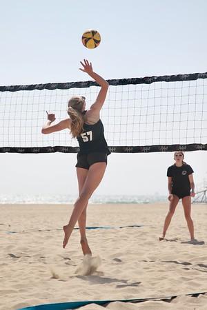 Mira Costa Girls Varsity Beach VB Game May 12, 2021