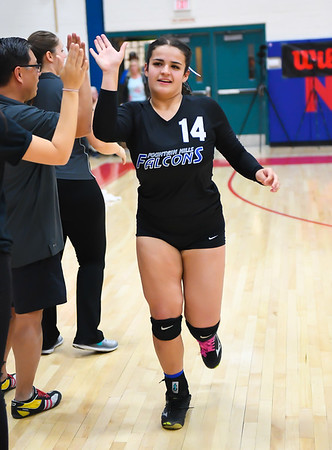 11-4-17 - Snowflake vs. Fountain Hills (AIA 3A Final Intros & Awards Photos) Volleyball