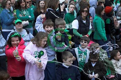 2010 Cleveland Saint Patrick's Day Parade - Spectators