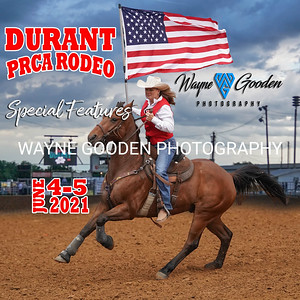 Durant PRCA Rodeo Special Features