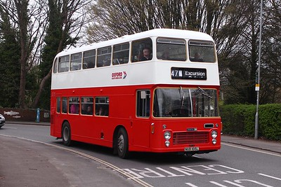 Retrobus Running Day in Winchester on 19th March 2017