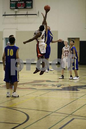 RAVEN BASKETBALL MENS Varsity Feb 16 2007