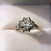 2.63ct Old European Cut Diamond Solitaire, GIA K VS2 28