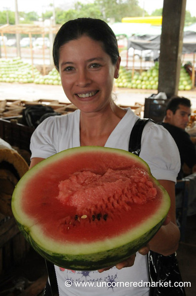 Watermelon for Lunch - Asuncion, Paraguay