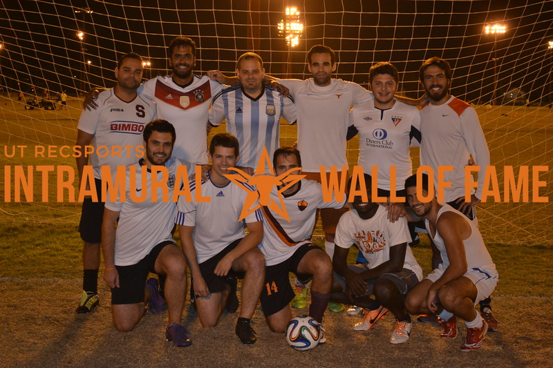 Fall 2015 Soccer Men's C Runner Up La Gallardeta