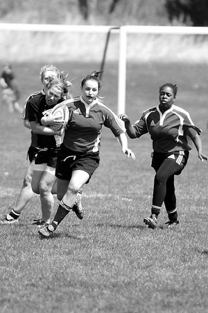 North Central Girls Rugby 4.2010