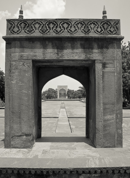 Akbar's tomb in Sikandra