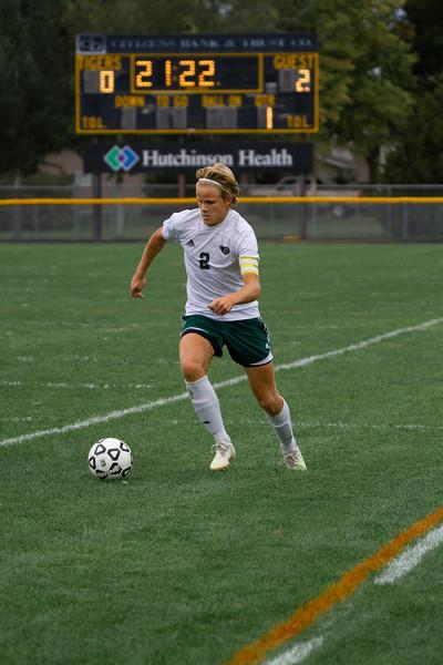 Holy Family Boys Varsity Soccer vs. Hutchinson, 9/26/19: Thomas Aragon-Menzel '20 (2)