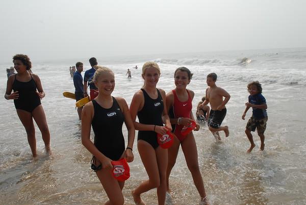 Jr. Lifeguard Competition 2007-Long Distance Run