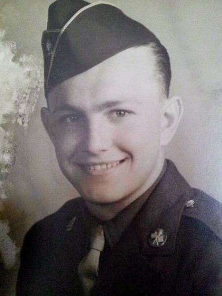 Faber Spires, U.S. Air Force master sergeant, grandfather to Morgan LaGrappe. Spires served in World War II.